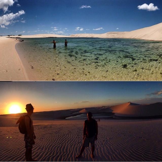 Memorable day lencoismaranhenses lagoaazul lagoabonita wwwyoannontheroadcom