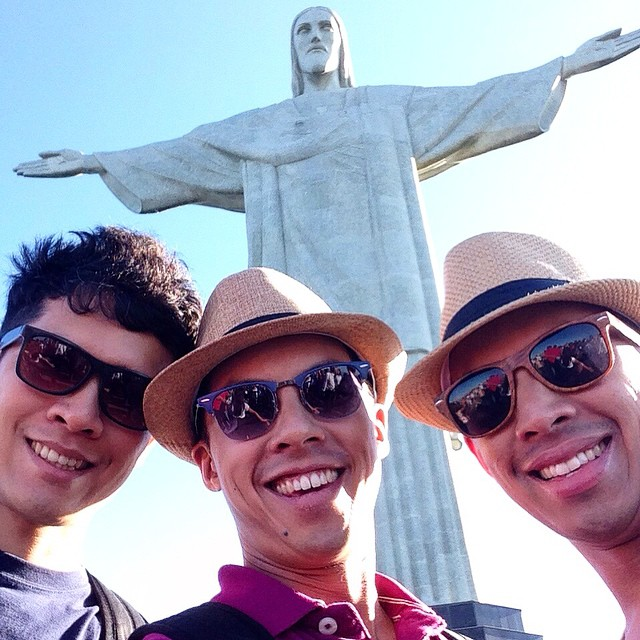 Cristo Redentor rioDeJaneiro brazil2015 goodLookingMen wwwyoannontheroadcom